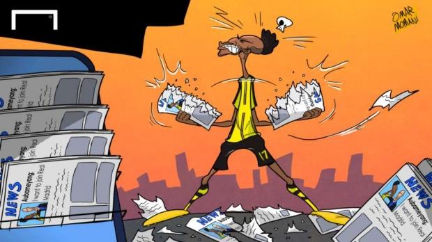 Футбол карикатуралари: «Ювентус», «Ливерпуль», «Барселона» ва Месси