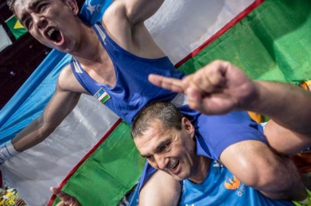 Ҳасанбой Дўстматов Ўзбекистонга илк олтин медални олиб берди