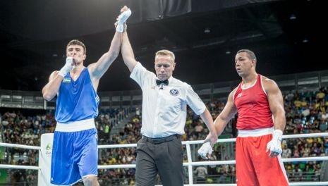 Рио-2016: Баҳодир Жалолов рақибини қандай нокаутга учратди? (фото)