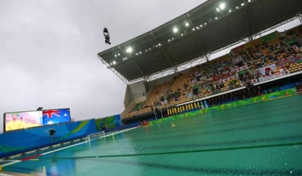 Олимпиада ташкилотчилари сув ҳавзаларида сувнинг яшил рангга кириши сабабини маълум қилишди
