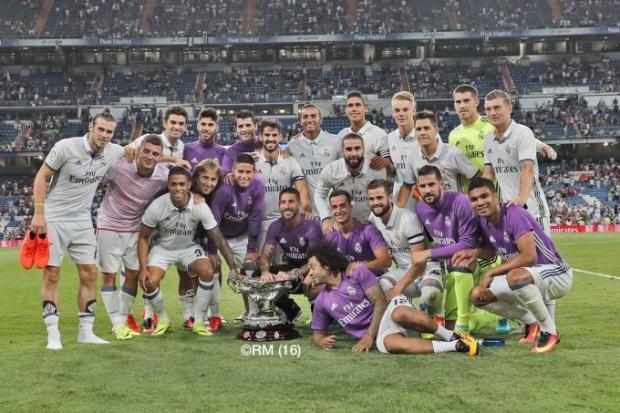 """""""Реал"""" Trofeo Santiago Bernabeu ғолибига айланди"""