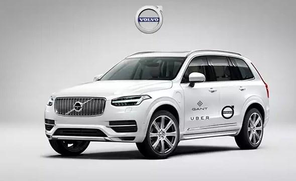 Uber ва Volvo ҳайдовчисиз автомобиль ишлаб чиқариш лойиҳасига 300 млн доллар киритади