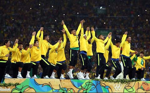Рио-2016, футбол. Бразилия терма жамоаси - Олимпиада ғолиби