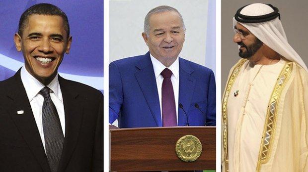 Барак Обамадан тортиб БАА Бош вазиригача Президент Ислом Каримовга байрам табрикларини жўнатишди