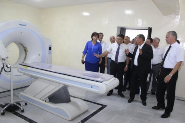 Андижон давлат тиббиёт институти клиникасига янги жиҳозлар ўрнатилди