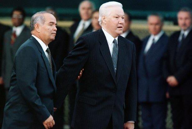 Руслар Борис Ельциннинг Тошкентда Ислом Каримов билан учрашувини эслашди