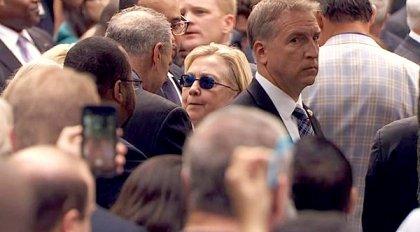 Хиллари Клинтон аҳволи ёмонлашгани сабабли ҳушидан кетди
