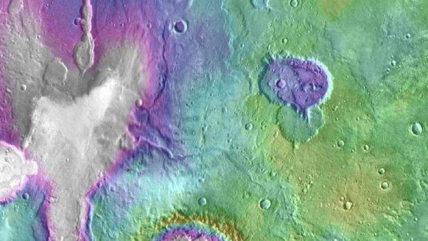 NASA: Марсдаги намлик хусусида янги маълумотларни тақдим этди