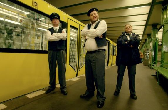 Германиянинг BVG  компанияси танқидга ҳазиломуз жавоб қайтариш йўлини ўйлаб топди