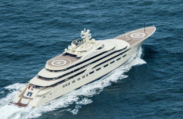 Алишер Усмонов 110 метрлик яхтасини сотувга қўйди