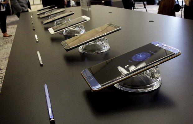 Samsung Galaxy Note 7 смартфонлари АҚШ дўконларига етказилди