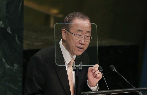 Пан Ги Мун: Зўравонлик ва зиддиятлар дунёга 13 триллион доллардан қимматга тушди