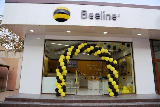 Beeline Алгоритмда янги салон очди