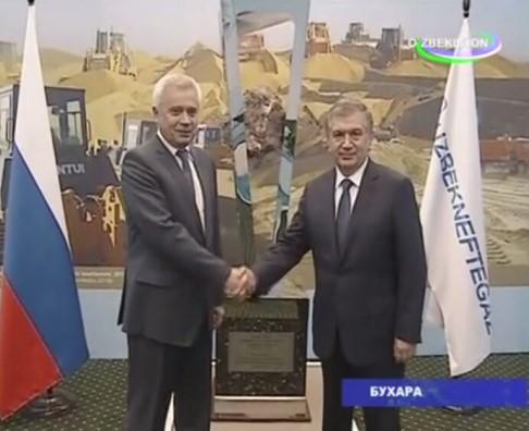 Шавкат Мирзиёев Бухоро ва Навоий вилоятларига ташриф буюрди
