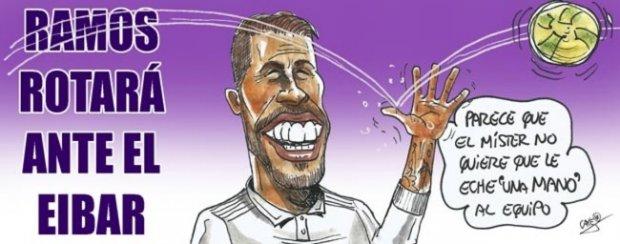 Испания чемпионатининг энг сара карикатурaлари