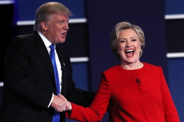Клинтон Трампдан саккиз фоизга илгарилаб кетди