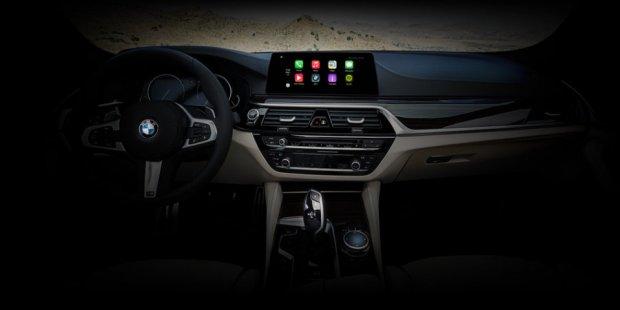 BMW 2017 5 Series — Apple CarPlay ўрнатилган илк автомобиль серияси