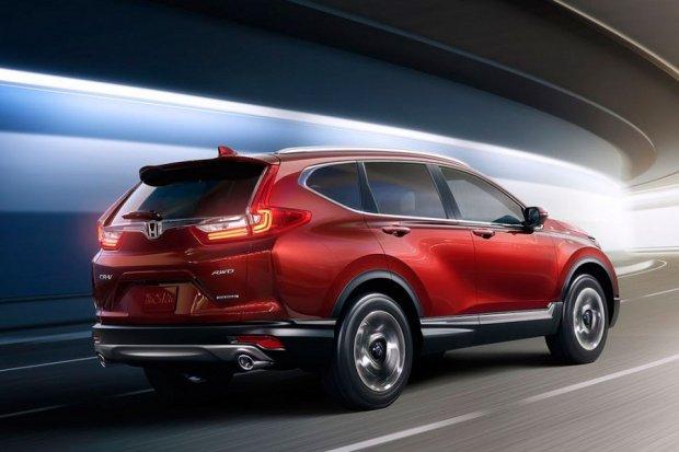 Янги Honda CR-Vга турболашган мотор ўрнатилди