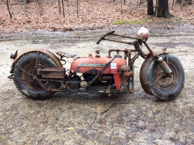 Трактордан… мотоцикл
