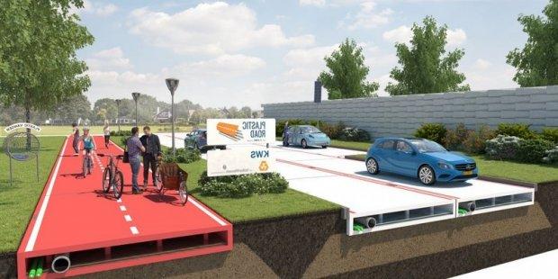 Нидерландия 2017 йилда пластикдан йўл қуради