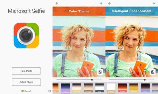 Microsoft Selfie иловавининг Android версияси яратилди
