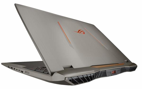 Full HD экранли ўйин ноутбуки ASUS ROG G701VI сотувга чиқади
