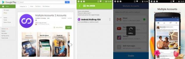 Google Play'даги янги вирус 1 млн фойдаланувчига ҳужум қилишга улгурди