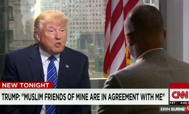 Трамп: Мен мусулмонлар учун яхшиликлар қиляпман. Жуда кўп мусулмон дўстларим менга қўшилади…