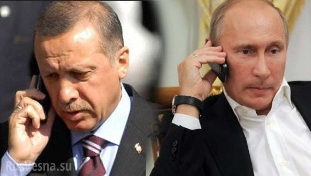 Путин ва Эрдўған кетма-кет иккинчи кун телефон орқали суҳбатлашишди