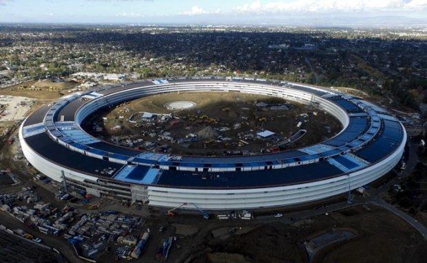 Apple'нинг янги штаб-квартираси видеоси тарқалди