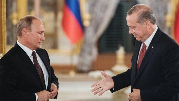 Путин ва Эрдўған Туркиянинг Сурия бўйича позициясини муҳокама қилишди