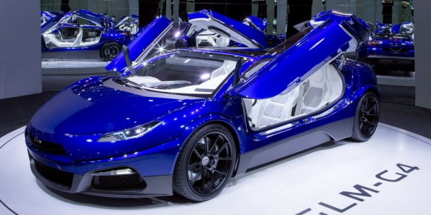 GLM-G4 япон-голланд суперкари серияли ишлаб чиқарилади