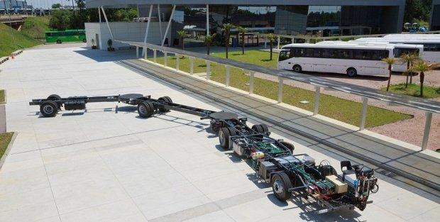 Швед компанияси энг катта автобус ясади