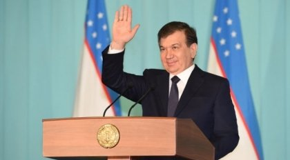 Президент Шавкат Мирзиёев янги — 2017 йилга ном берди