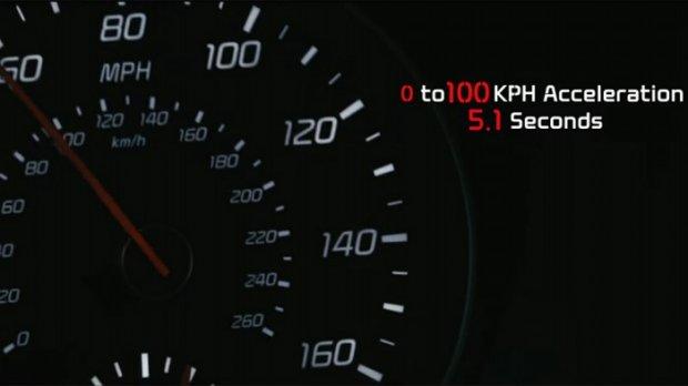 Kia'нинг янги автомобили беш сония ичида юз километр тезликка етиши мумкин