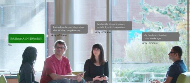 Microsoft Translator тил борасидаги тўсиқларни йўқ қилади (сурат ва видео)