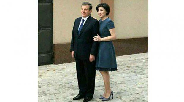 Ўзбекистон Республикаси президенти ва биринчи хоним (Фото)