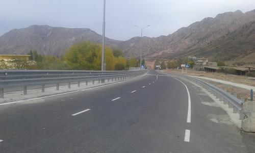 Тошкент-Душанбе автомобиль йўлини капитал таъмирлаш якунига етмоқда