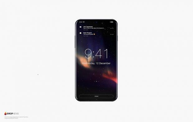 Рамкасиз iPhone 8 қандай дизайнда бўлади?