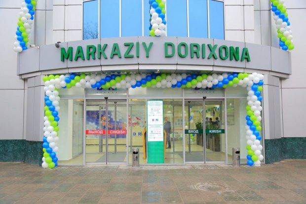 Ўзбекистонда илк бор супермаркет шаклидаги дорихона очилди (Фото)