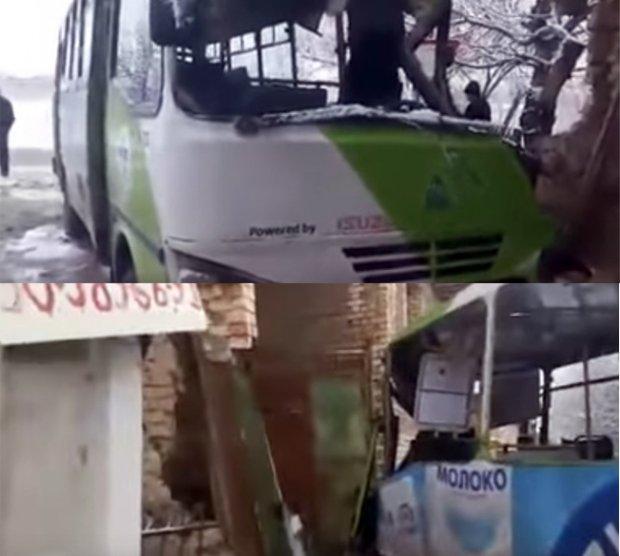 Тошкентда йўловчи автобуси хонадонлардан бирига келиб урилди