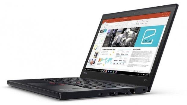 Lenovo ThinkPad X270 ноутбуки автоном режимда 20 соат ишлаши мумкин