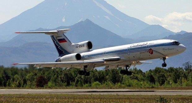 Россияда барча Ту-154 самолётлари парвози вақтинча тўхтатилди