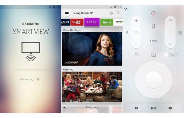 Янги Samsung телевизорлари телефондаги онлайн видеони экранга транслация қилади