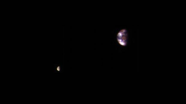Марс орбитасидан олинган Ер сурати намойиш этилди