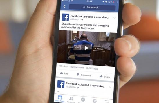 Facebook видеороликлардан даромад олишнинг янги тизимини ишга туширди