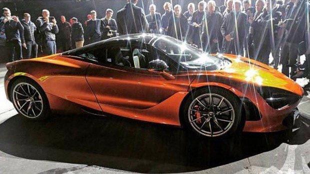Internetda McLaren yangi superkarining ilk suratlari paydo bo'ldi