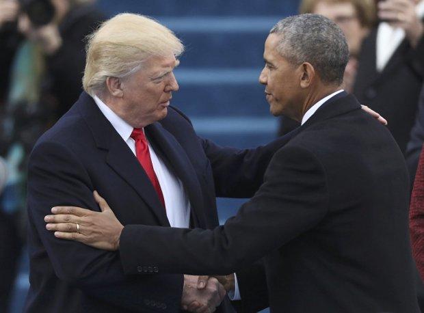 Tramp Obamaga yoqishiga ishonchi komil