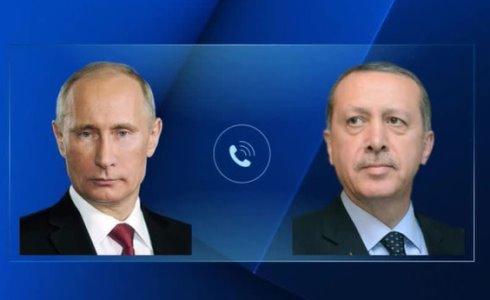 Putin Erdo'g'onga turk harbiylari halokati yuzasidan hamdardlik bildirdi