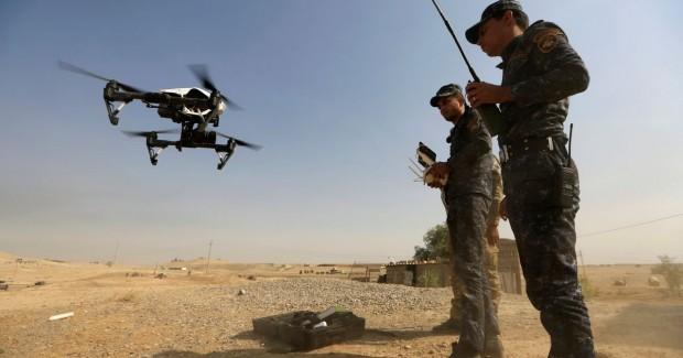 ИШИД жангарилари ироқлик ҳарбийларга қарши дронлардан фойдаланмоқда
